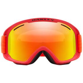 Oakley O Frame 2.0 Pro XM Gafas de Nieve Mujer, red neon orange/fire iridium&persimmon